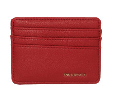 Dokladovka Burgundy Anna Grace Card Holder Wallet