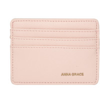 Dokladovka Pink Anna Grace Card Holder Wallet