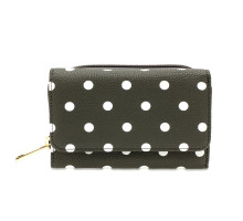 Peněženka Grey Polka Dot Design Purse/Wallet