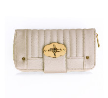 Peněženka Ivory Zip Round Twist Lock Purse/Wallet