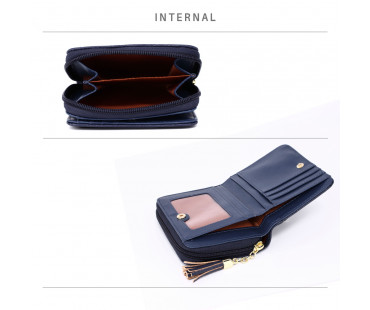 Peněženka Navy Anna Grace Purse / Wallet With Tassel