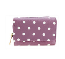 Peněženka Purple Polka Dot Design Purse/Wallet