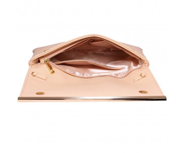 Psaníčko Nude Large Flap Clutch purse