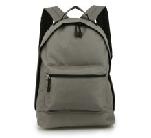 Batoh Grey Backpack School Bag - šedý