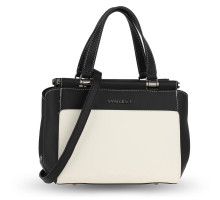Kabelka Beige / Black / Black Women's Shoulder Handbag