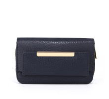 Peněženka Navy Zip Around Purse / Wallet - modrá