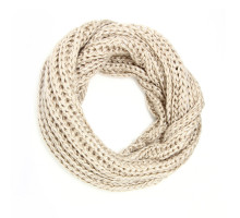 Šála Plain Beige Women's Winter Scarf