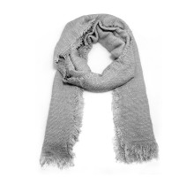 Šátek Grey Women's Texture Winter Scarf