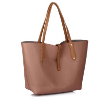 Kabelka Large Nude Shoulder Handbag