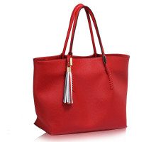 Kabelka Red Tassel Charm Shoulder Bag