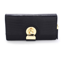 Peněženka Black Twist Lock Purse/Wallet With Tassel