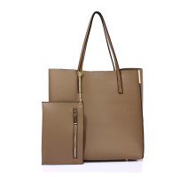 Kabelka Nude Tote Bag With Removable Pouch