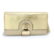 Peněženka Gold Twist Lock Purse/Wallet With Tassel