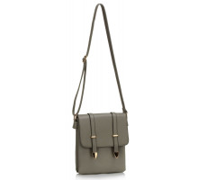 Kabelka Grey Shoulder Cross Body Bag - šedá