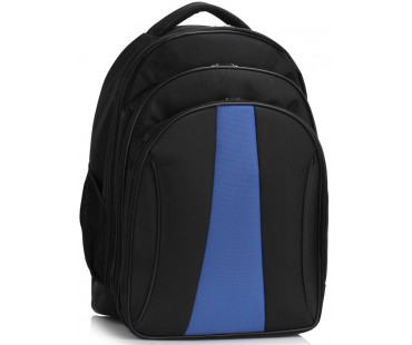 Batoh Black / Blue Backpack Rucksack School Bag