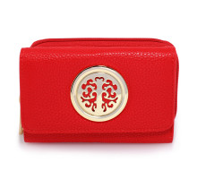 Peněženka Red Purse/Wallet with Metal Decoration