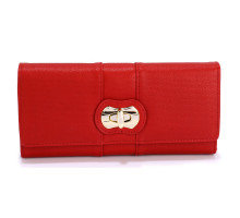 Peněženka Red Twist Lock Purse/Wallet