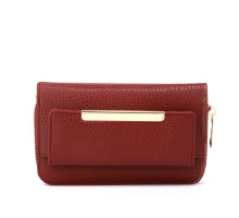 Peněženka Burgundy Zip Around Purse / Wallet