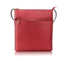 Kabelka Burgundy Cross Body Shoulder Bag - vínová