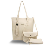 Kabelka - 3 kusový set Beige Women's Fashion Handbags