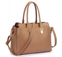 Kabelka Nude Women's Tote Bag With Polished Hardware