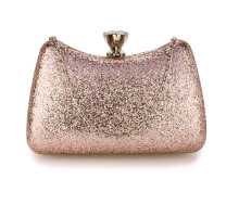 Psaníčko Pink Hard Case Diamante Crystal Clutch Bag
