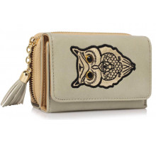 Peněženka Grey Owl Design Purse/Wallet