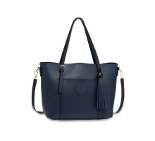 Kabelka Navy Anna Grace Fashion Tote Bag With Tassel