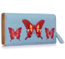 Peněženka Blue Butterfly Design Purse/Wallet