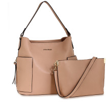 Kabelky Nude Shoulder Bag With Pouch