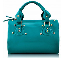 Kabelka Emerald Studded Fashion Satchel Handbag