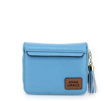 Peněženka Blue Anna Grace Purse / Wallet With Tassel