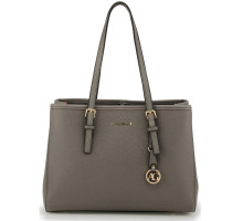 Kabelka Anna Grace Grey Women's Fashion Tote Bag - šedá