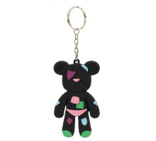 Přívěsek Black Patches Teddy Bear Bag Charm