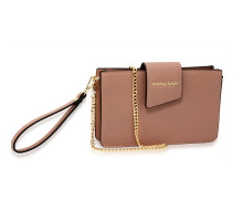 Kabelka Nude Cross Body Shoulder Bag With Wristlet