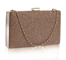 Psaníčko Multi Colour Glitter Clutch Bag