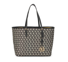 Kabelka Black Anna Grace Print Women's Large Tote Bag