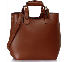 Kabelka Brown Ladies Fashion Tote Handbag
