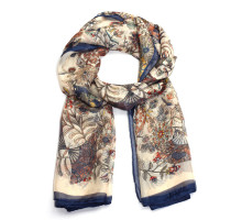 Šátek Multi-color Floral Print Women's Scarf