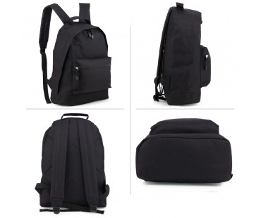 Batoh Black Backpack School Bag - černý