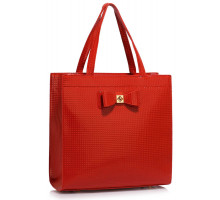 Kabelka Red Bow Decoration Shoulder Bag