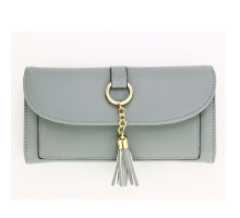 Peněženka Blue Flap Purse/Wallet With Tassel