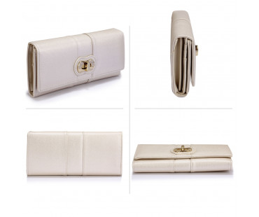 Peněženka Ivory Twist Lock Purse/Wallet