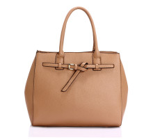 Kabelka Nude Tote Handbag Features Buckle Belts