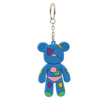 Přívěsek Blue Patches Teddy Bear Bag Charm