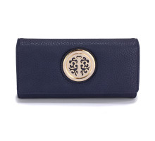Peněženka Navy Purse/Wallet with Metal Decoration - nám. modrá