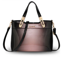 Kabelka Pink Two Tone Patent Shoulder Bag