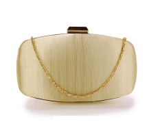 Psaníčko Nude Satin Evening Clutch Bag - tělové