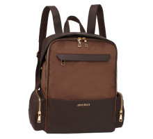 Batoh Coffee Backpack Rucksack School Bag - hnědý