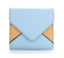 Peněženka Blue / Beige Envelop Purse/Wallet - moddrá